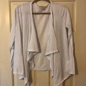 Michael Kors white cardigan